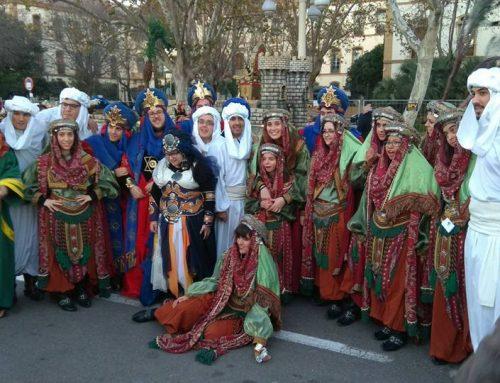 """""""Tots Junts Podem"""" participa en la Cabalgata de Reyes 2018."""