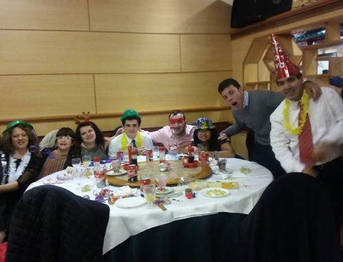 » Cena de Noche Vieja en familia «